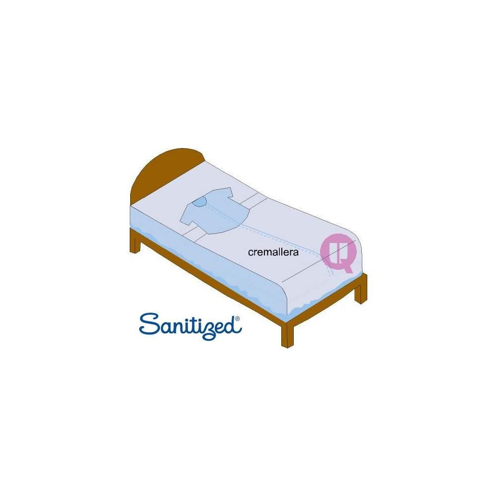 SANITIZED fastening sheets 90 SHORT SLEEVE - SANITIZED fastening sheets 90 SHORT SLEEVE