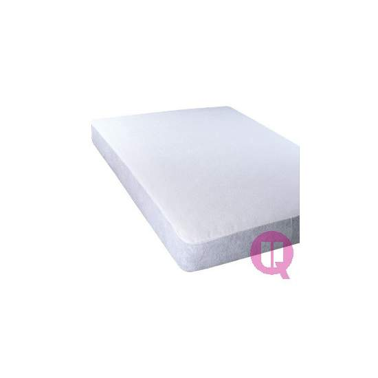 Impermeável protetor de colchão 320gr TERRY 90 - CURL 320gr 90X190X20