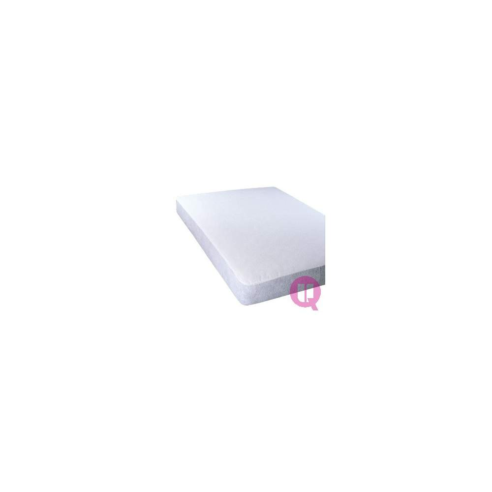 Matelas imperméable protecteur 120 320gr TERRY - CURL 320g 120X190X20