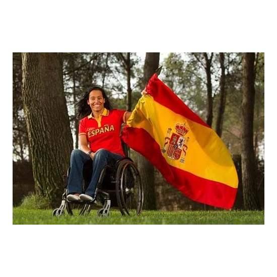 TERESA PERALES, champion paralympique équipe espagnole