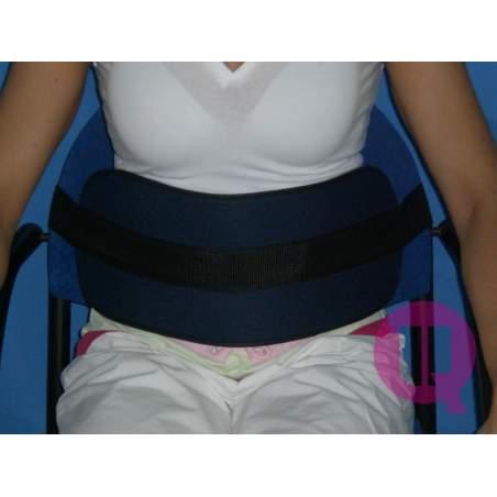 Cinturón abdominal para SILLA ACOLCHADO/HEBILLAS