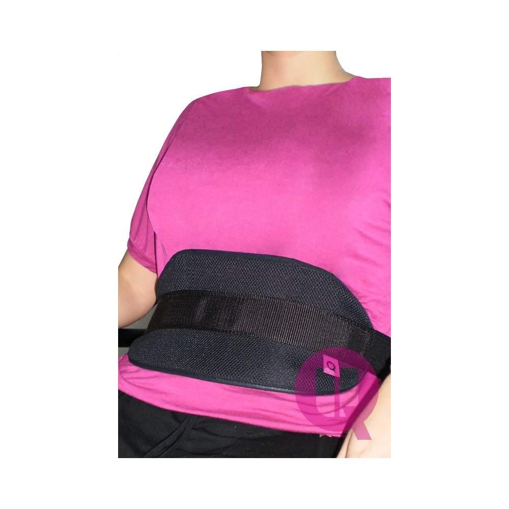 Abdominal belt CHAIR TRANSPIRABLE / BUCKLES