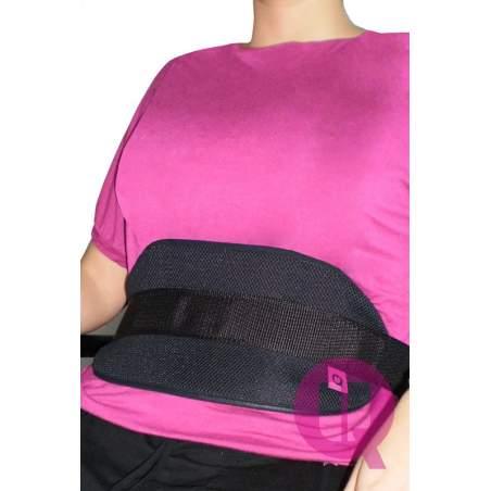 Cinturón abdominal para SILLA TRANSPIRABLE/HEBILLAS
