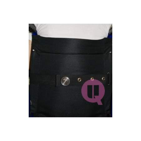 Lap belt for SEAT CUSHION / IRIONCLIP