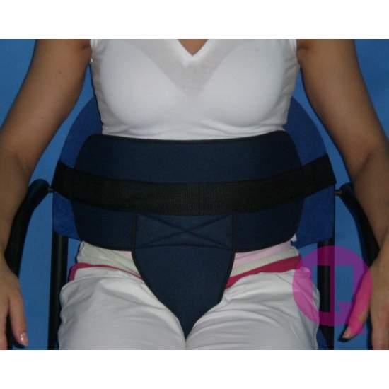 Cinturón perineal para SILLA ACOLCHADO / HEBILLAS - SILLA ACOLCHADO/HEBILLAS 160-150