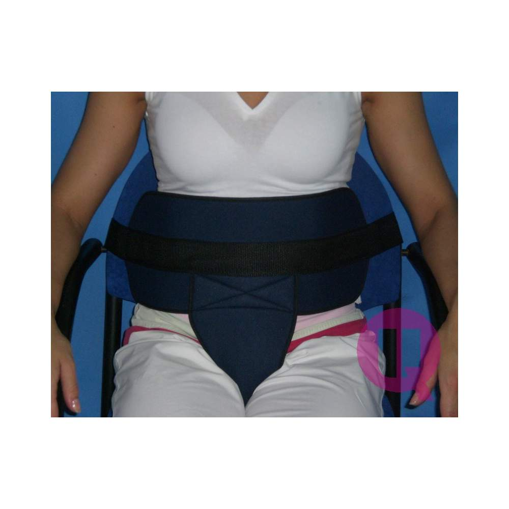 PADDING ARMCHAIR perineal belt / BUCKLES