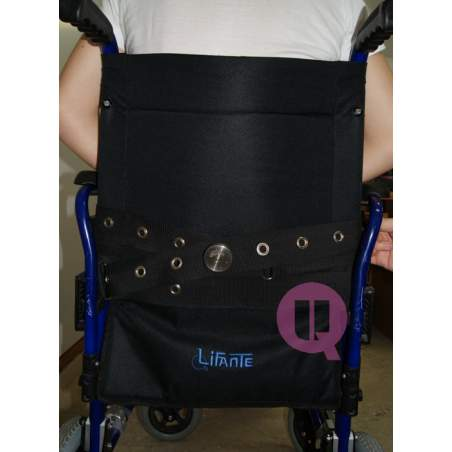 PADDING ARMCHAIR perineal belt / IRIONCLIP