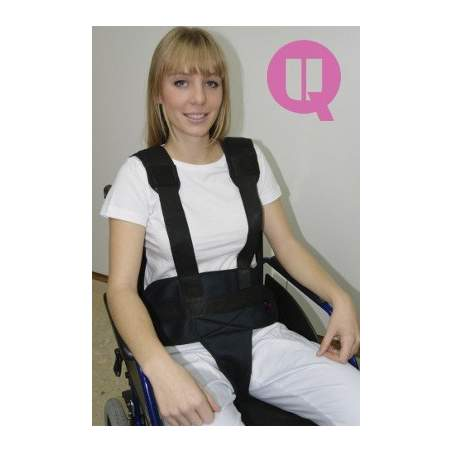 Perineal belt with suspenders TRANSPIRABLE / BUCKLES CHAIR