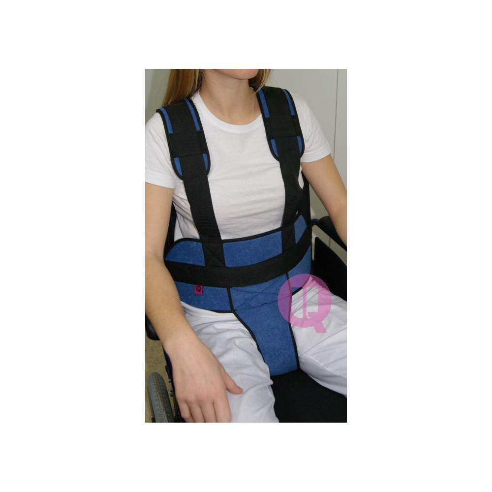 Perineal belt with suspenders CHAIR PADDING / IRIONCLIP - SEAT CUSHION / IRONCLIP 160-150