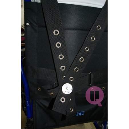 Cinturón perineal con tirantes SILLA ACOLCHADO / IRIONCLIP