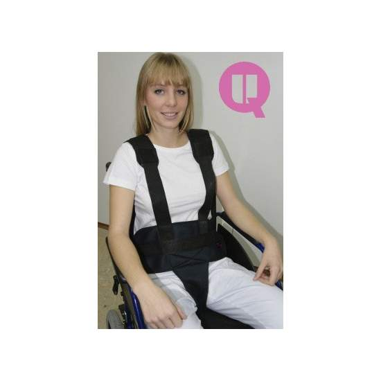 Perineal belt with suspenders TRANSPIRABLE ARMCHAIR / BUCKLES - ARMCHAIR TRANSPIRABLE / 310-290 BUCKLES