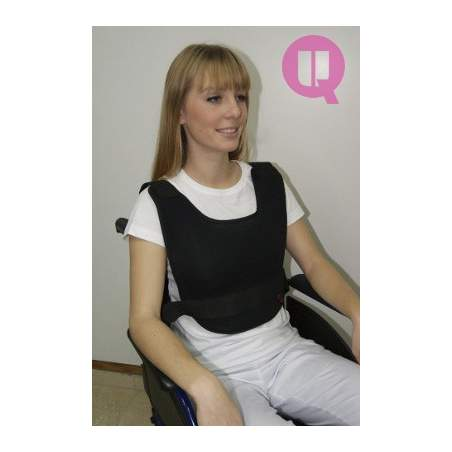 Vest abdominal TRANSPIRABLE CHAIR