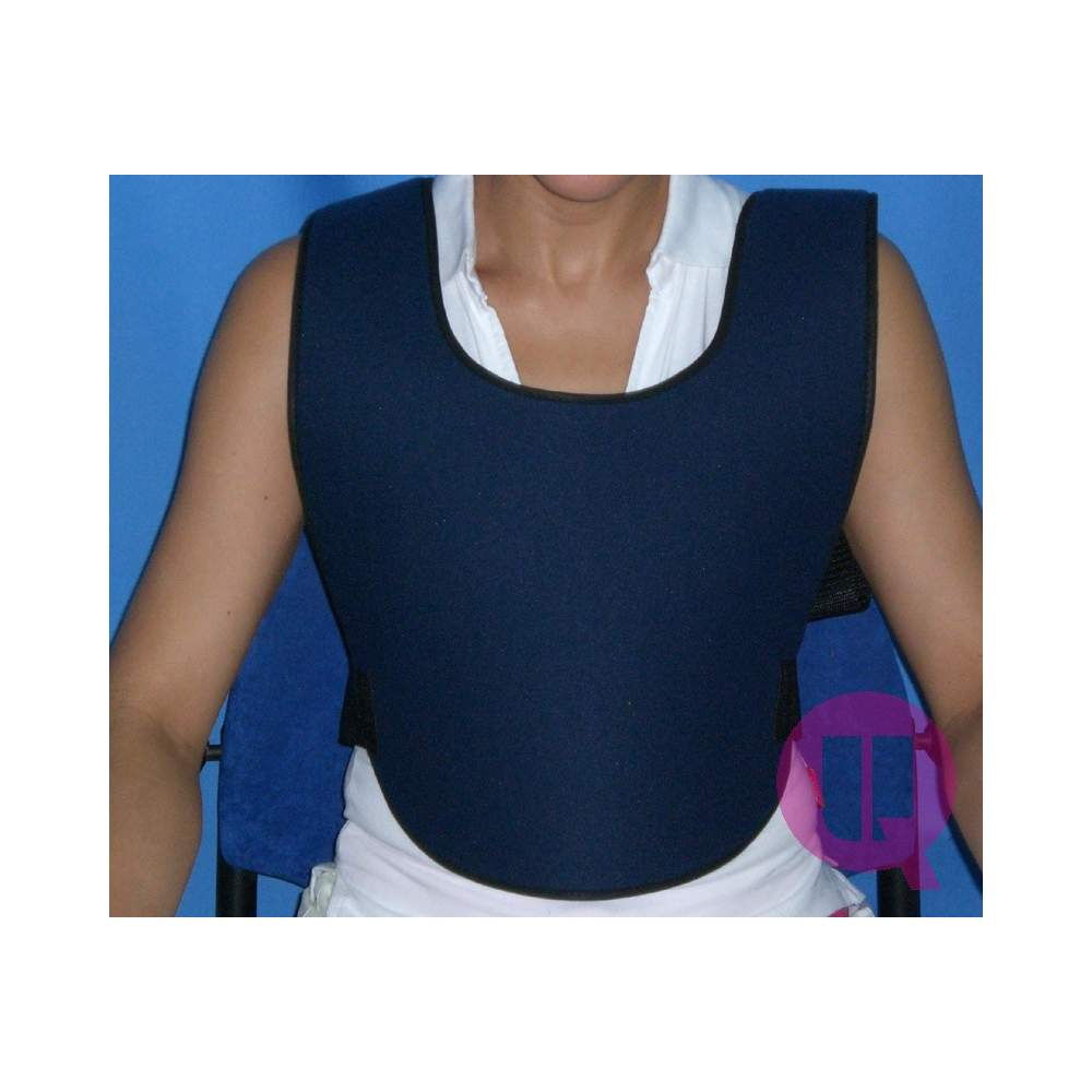 PADDING ARMCHAIR abdominal vest