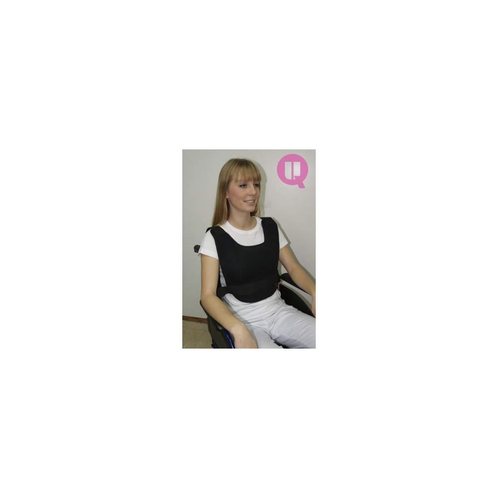 ARMCHAIR vest abdominal TRANSPIRABLE - ARMCHAIR TRANSPIRABLE size L