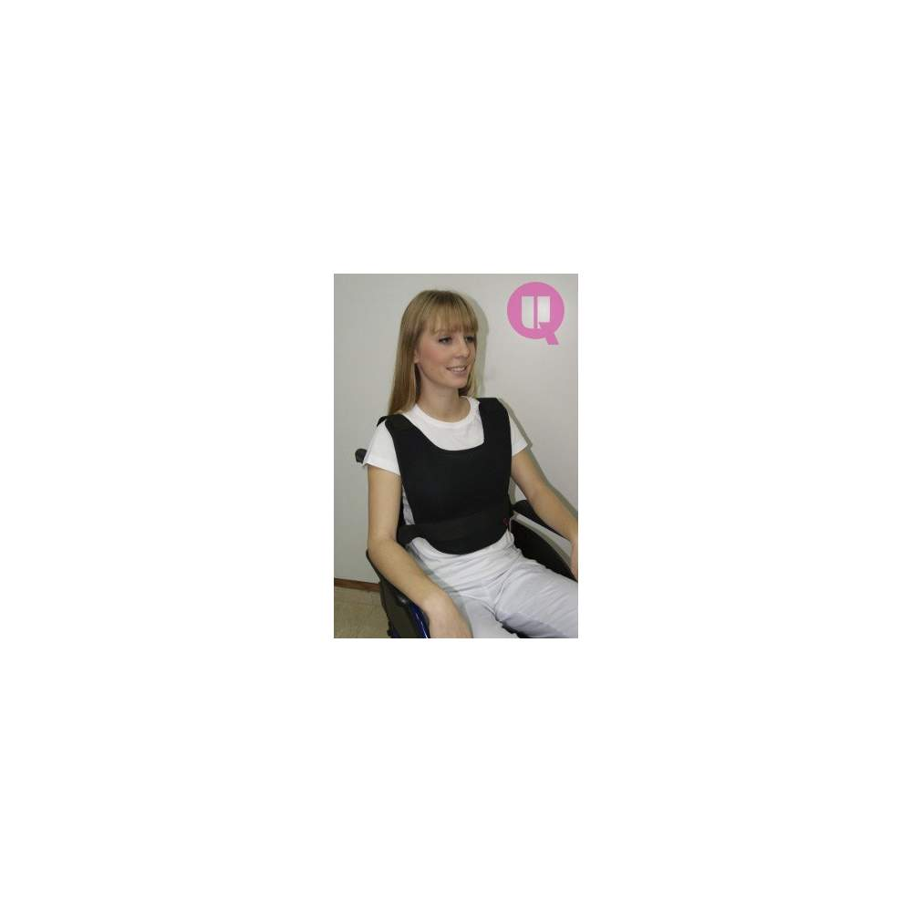 Colete POLTRONA transpirável abdominal - POLTRONA transpirável tamanho L