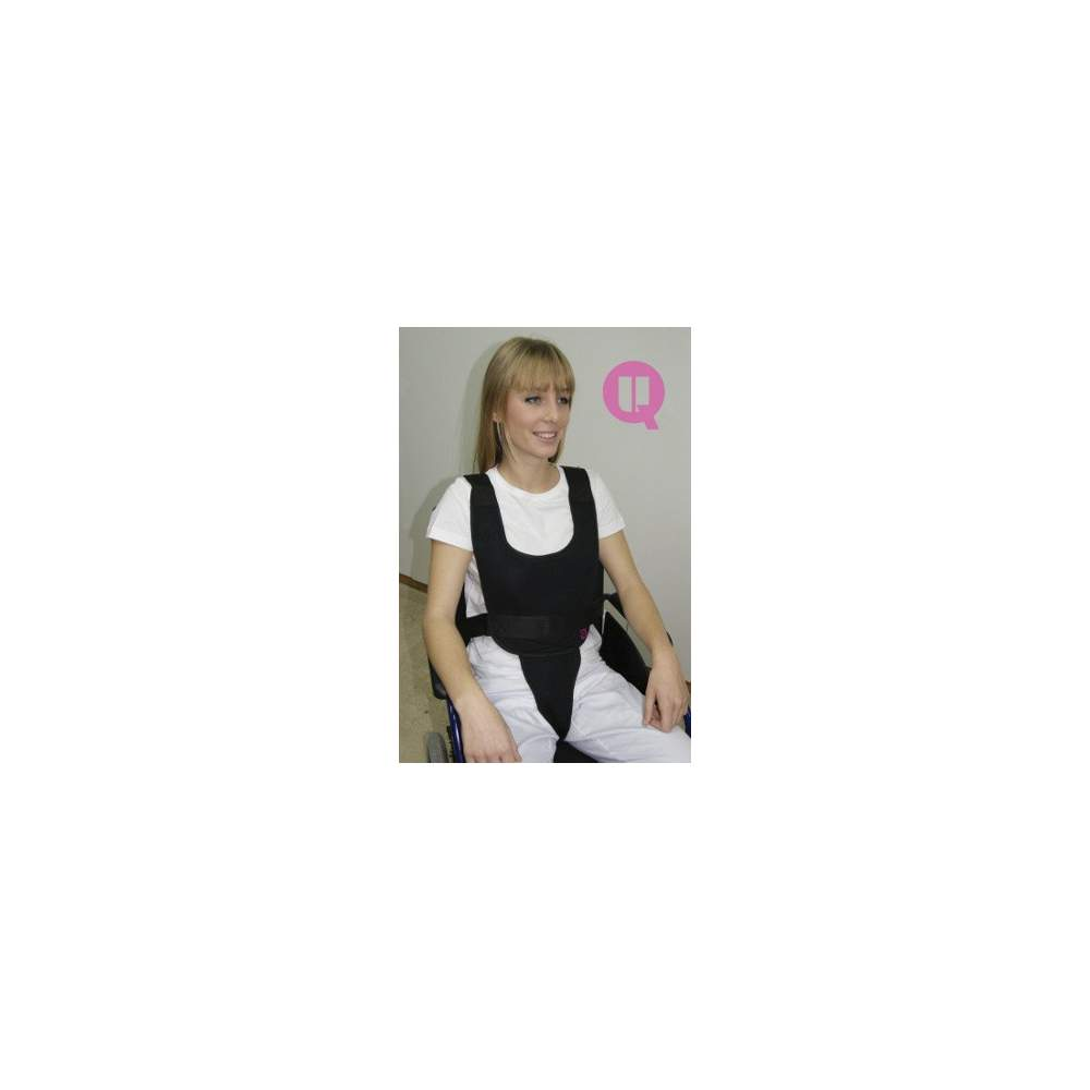 Perineal vest CHAIR TRANSPIRABLE - CHAIR TRANSPIRABLE size M