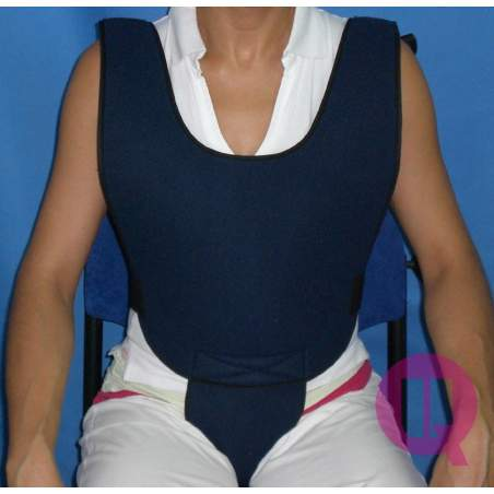 Perineal vest PADDING ARMCHAIR