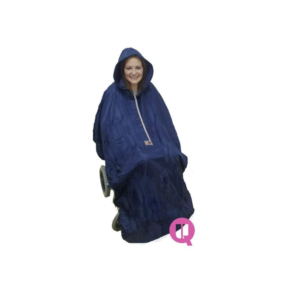 Waterproof raincoat wheelchair