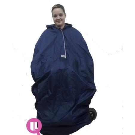 Waterproof cadeira de rodas capa de chuva