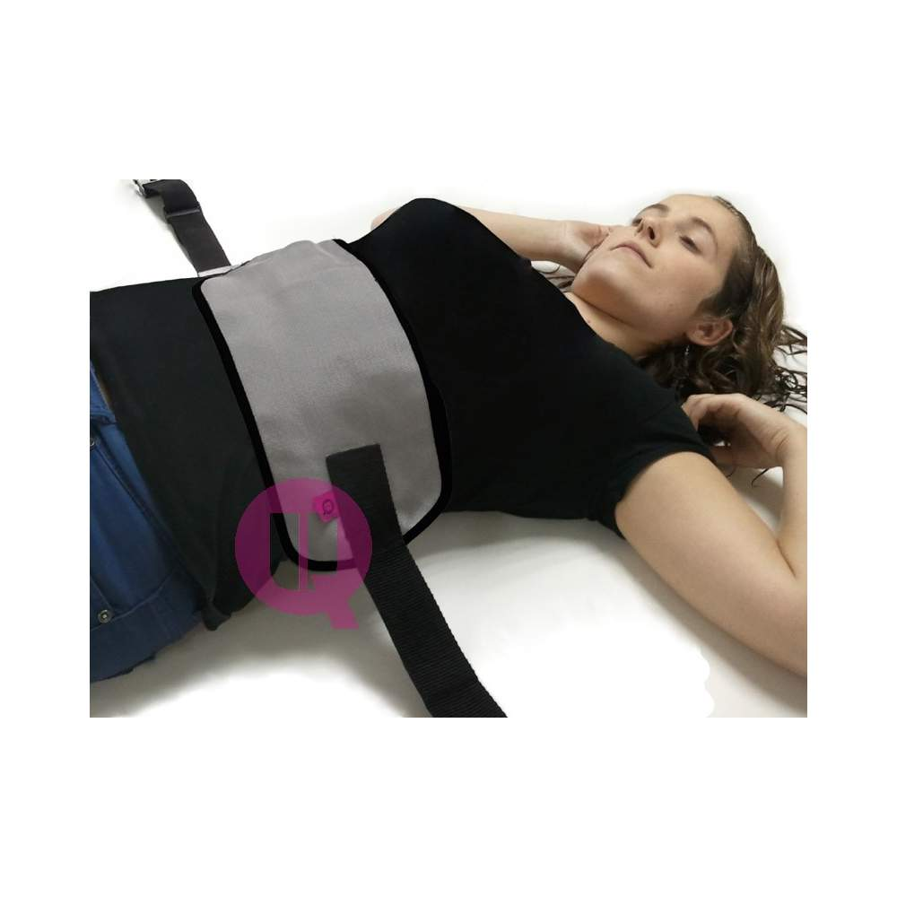 Cinto abdominal - Polipropileno / BUCKLES T / M - 90 cama de polipropileno / BUCKLES T / M