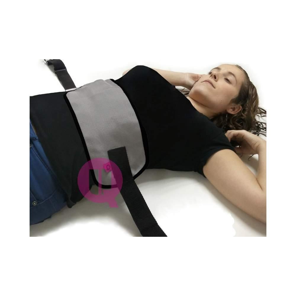 Abdominal belt - Polypropylene / BUCKLES T / L - 90 bed polypropylene / BUCKLES T / L