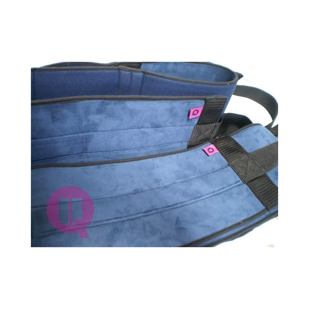Cinturon abdominal - ACOLCHADO / HEBILLAS T/L - Cama de 90 ACOLCHADO / HEBILLAS T/L
