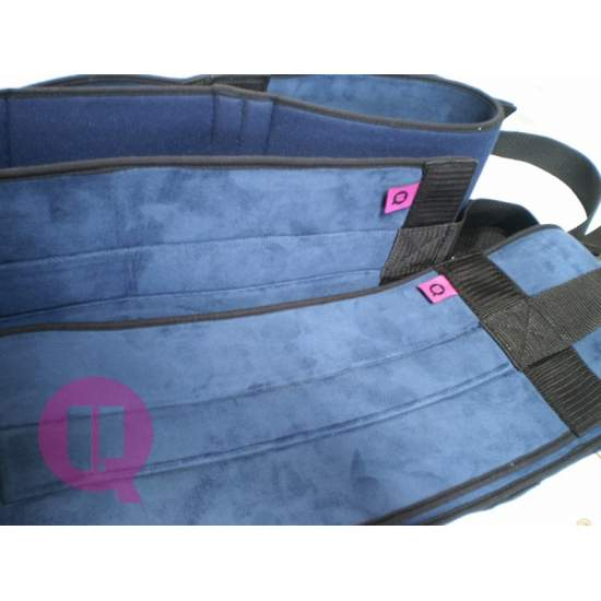 Abdominal belt - PADDING / BUCKLES T / L - PADDING 105 bed / BUCKLES T / L