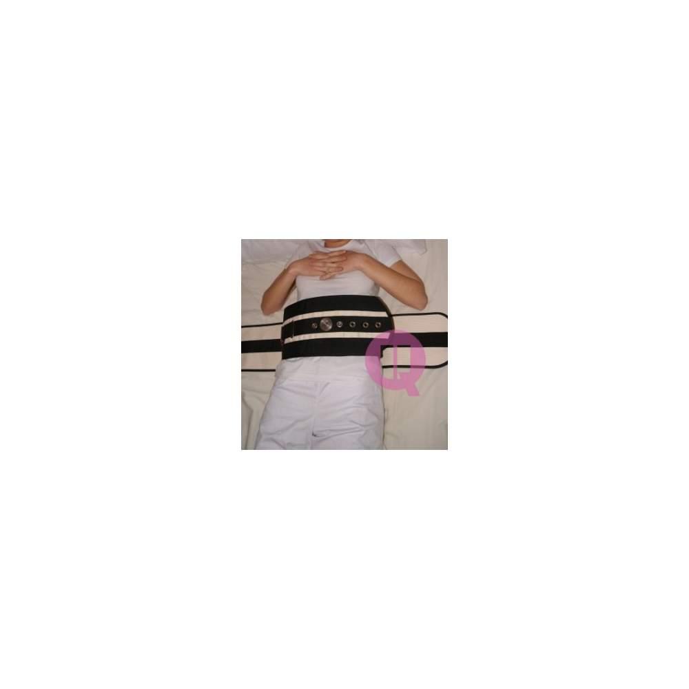 Abdominal belt - CANVAS / IRONCLIP T / M - 105 bed CANVAS / IRONCLIP T / M