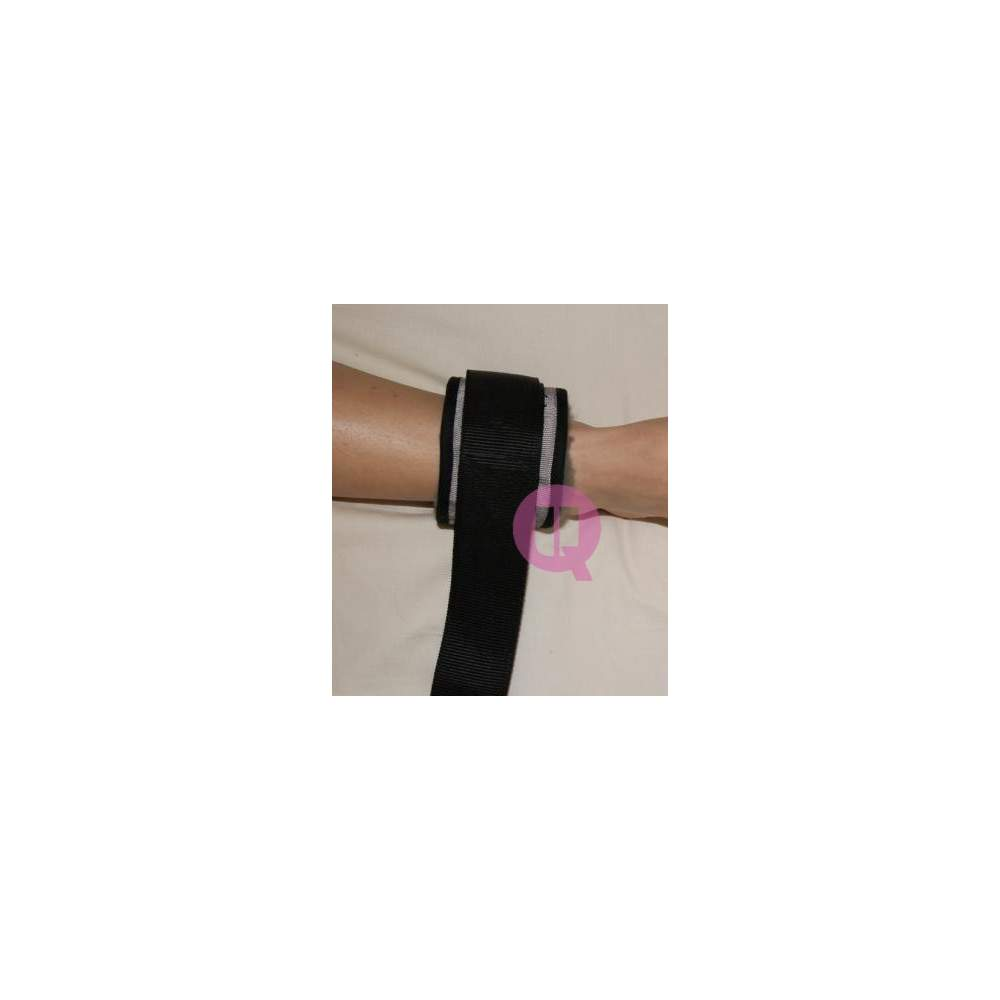 Sujección de piernas en cama de POLIPROPILENO / HEBILLAS - Tobillera POLIPROPILENO / HEBILLAS (Par)