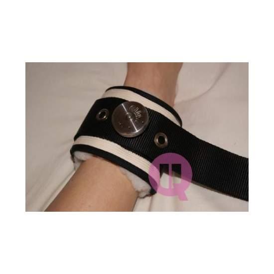 Sujección de piernas en cama de LONA / IRONCLIP - Tobillera LONA / IRONCLIP (Par)