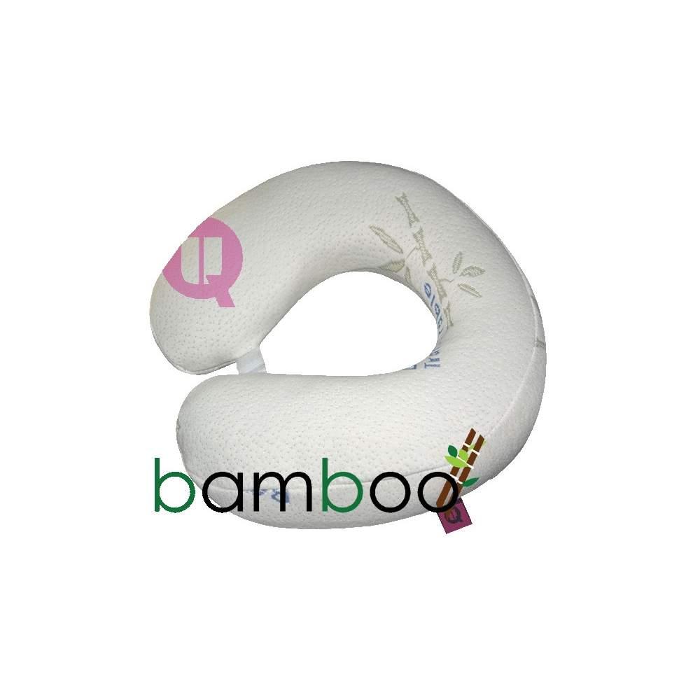 Almohada herradura de viaje RELAXTIC VISCO BAMBÚ - RELAXTIC VISCO BAMBÚ 33x33x10