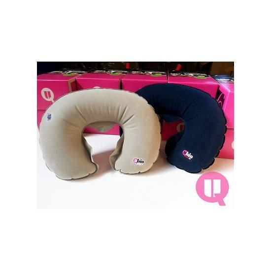 Horseshoe cuscino da viaggio collare gommone GRAY - COLLARE GONFIABILE GRAY 48x52