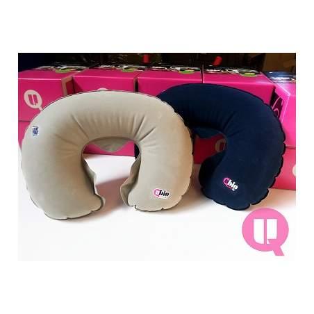 Horseshoe cuscino da viaggio collare gommone GRAY