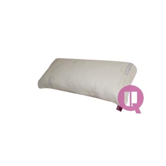Travesseiro fibra de bambu - Fibra de bambu 90x40x22