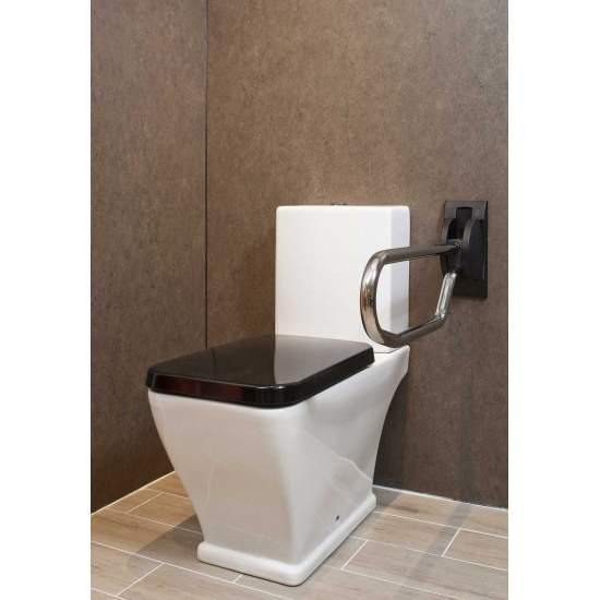 BARRA ABATIBLE E 53 CMS ACERO INOXIDABLE LI2603I - BARRA ABATIBLE DE 53 CMS EN ACERO INOXIDABLE
