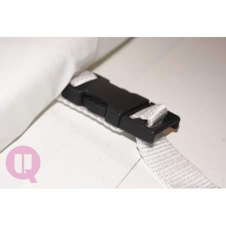PVC 190X35 protective railing (pc.)