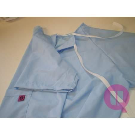 CELESTE ospedale camicia da notte MANICA CORTA T / M