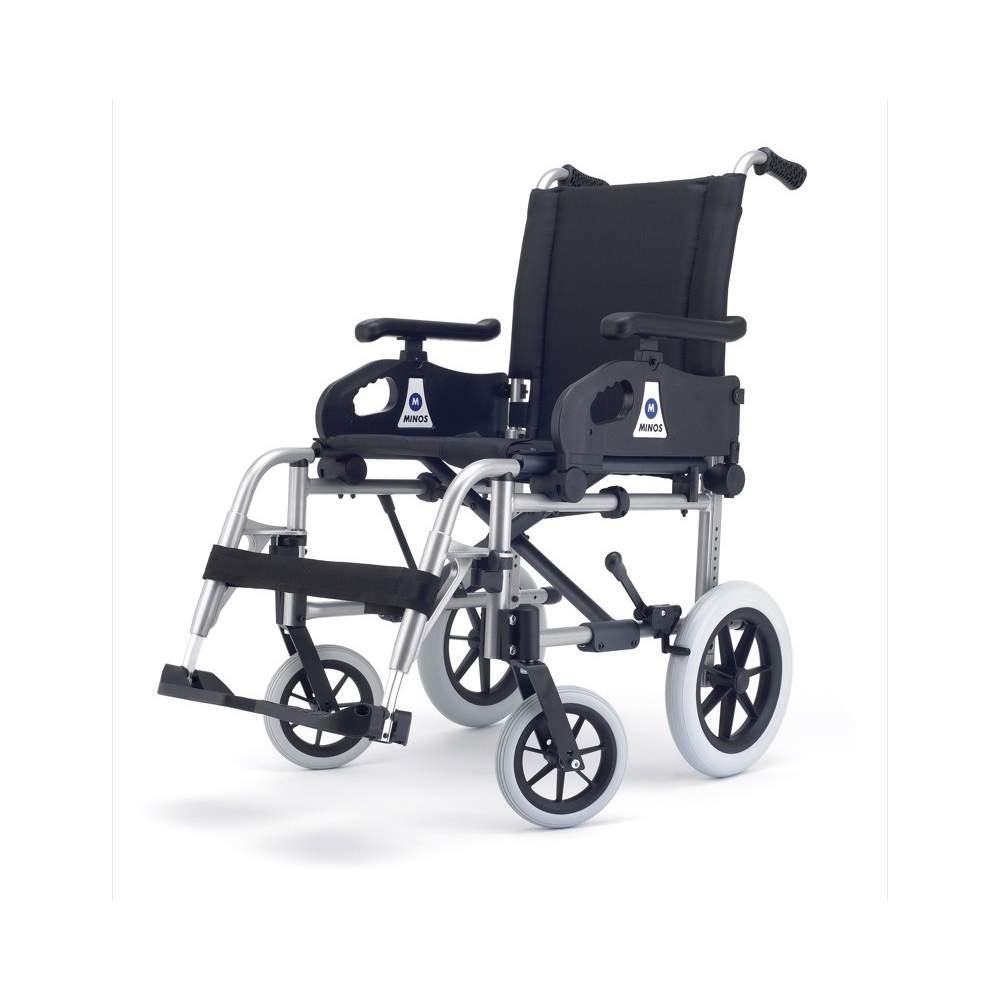 Silla de Ruedas Minos Plena Transit - La opción más rentable Para los más exigentes hemos desarrollado la silla Minos Plena con la horquilla delantera ajustable y el plato multiposición que permiten variar el ángulo...