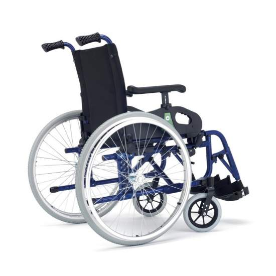 Silla de Ruedas Minos Irati 2 Ruedas Grandes - Minos gives a twist to his chair, now reaches more people.A chair for every need, more dynamic, strong and robust and, of course, with warranty, durability and quality as always.Code provision 12210003