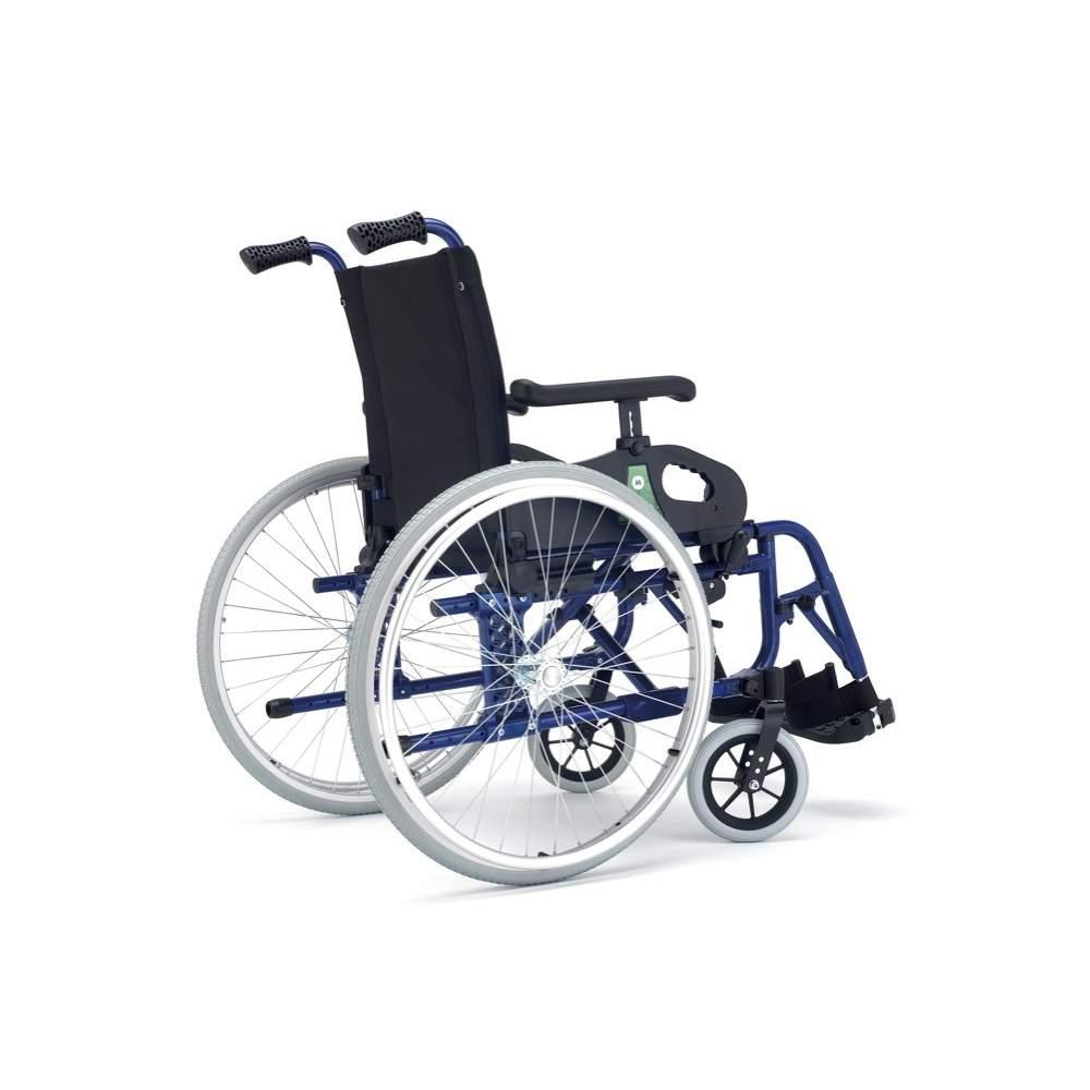 Minos cadeira de rodas Irati duas rodas grandes - Minos se vira na cadeira, agora chega a mais pessoas.Uma cadeira para cada necessidade, mais dinâmico, forte e robusto e, claro, com durabilidade, garantia e qualidade, como...