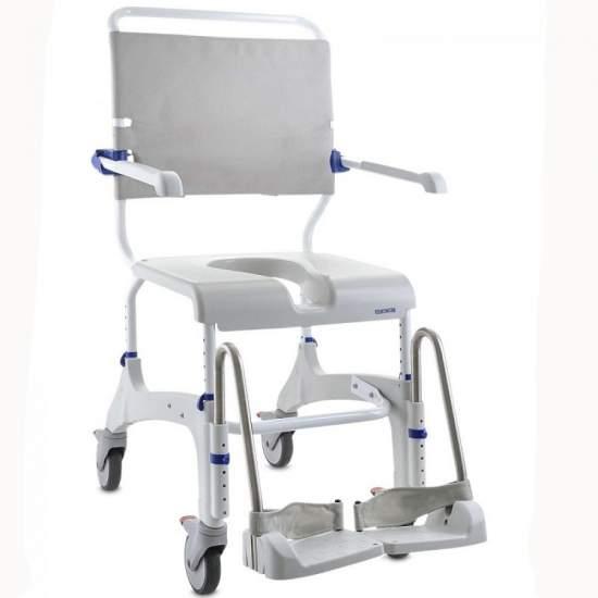 Aquatec Ocean - Fauteuil roulant à douche - Aquatec Ocean est une gamme complète de chaises de douche pour répondre à tous les besoins des patients et  soignants. Il offre le modèle approprié pour chaque besoin.