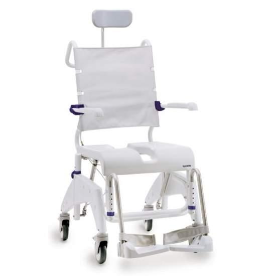 Sedie bagno con ruote for Sedia a rotelle ruote piccole