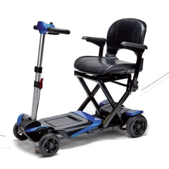 Transformateur avec scooter électrique pliable