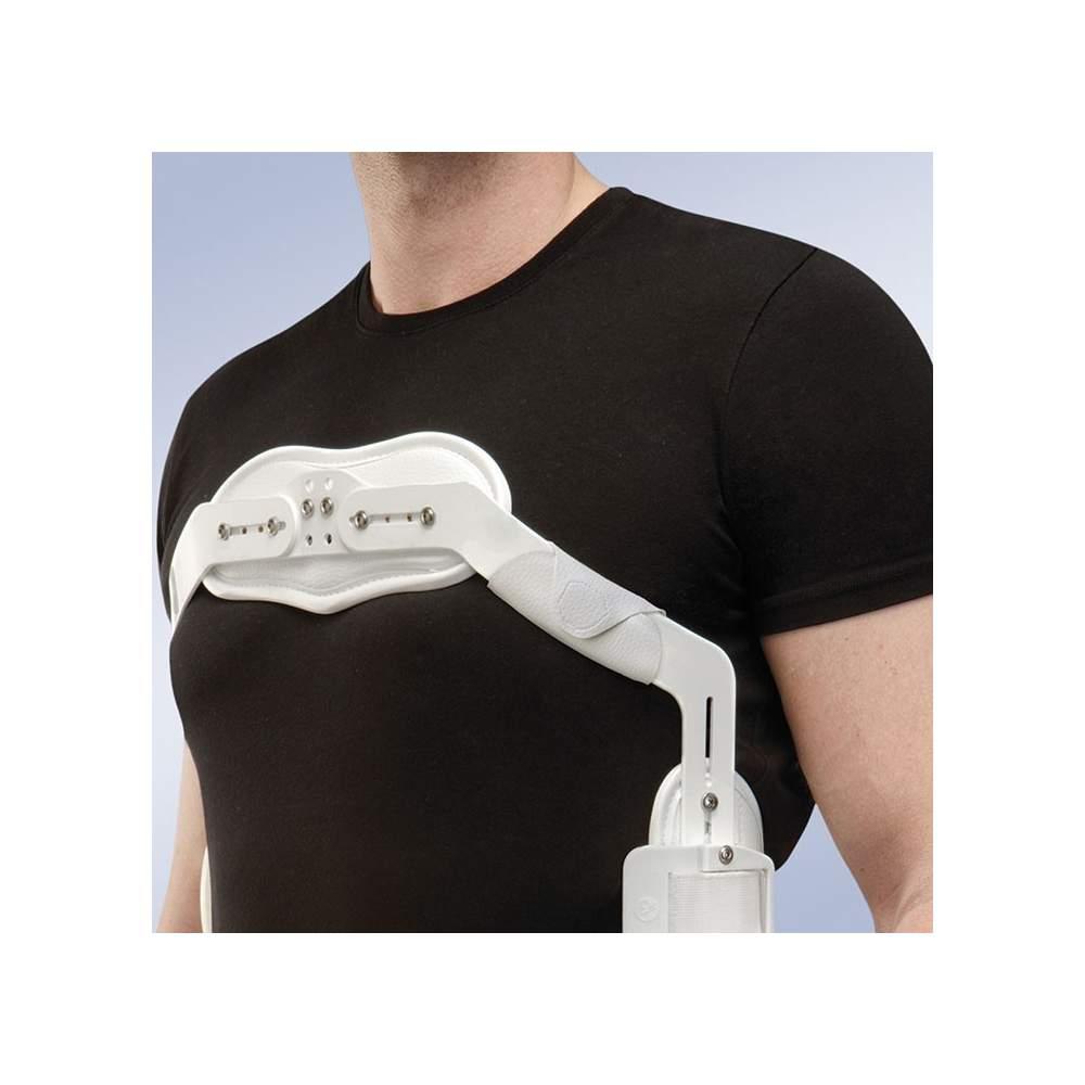 Protector Axilar Para Jewet (par) Orliman J101 - El protector consta de 2 almohadillas independientes que actúan como una interfase amortiguando la zona axilar con el marco.