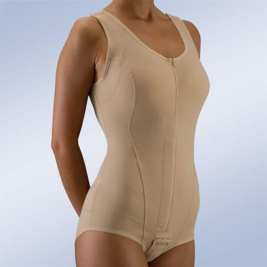 Bodyostec corps pour l'ostéoporose - Plaque thoraco orthèse thermoformable arrière et dont les seins bodyostec.