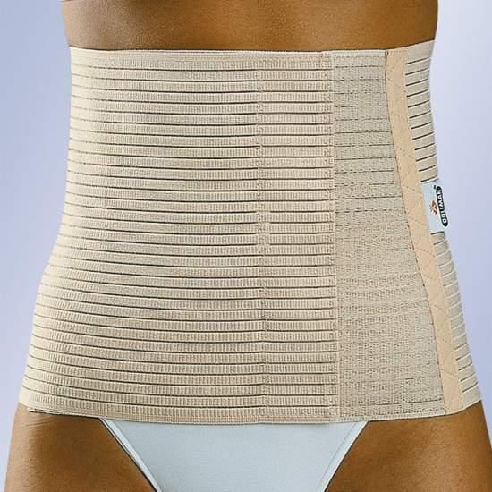 ADDOMINALE elastico 24 cm - Cintura Multiband realizzato in tessuto elasticizzato traspirante.