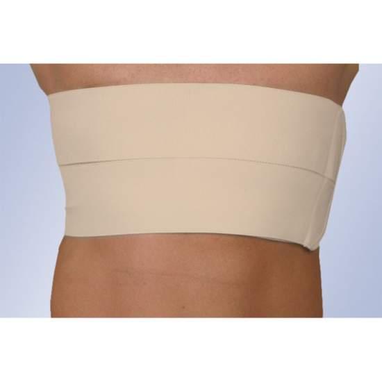 Faja 2 bandas costal caballero (16 cms) - Banda elástica fabricada en tejido continuo con cierre velcro.  Modelos disponibles: BE-165: Caballero BE-175: Señora
