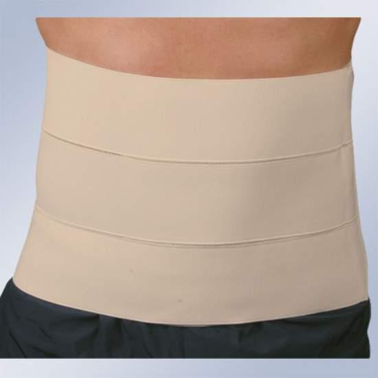 Faja 3 bandas (24 cm) - Faja confeccionada en tejido continuo cierre velcro.