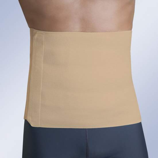 Abdominal elastic band (28 cm) - Tailored band abdominal stretch cotton fabric in one piece, which provides a pleasant contact with the skin of the patient. By design and elasticity we obtain an optimum adaptation both at the waist and pelvis. Its closure system allows...
