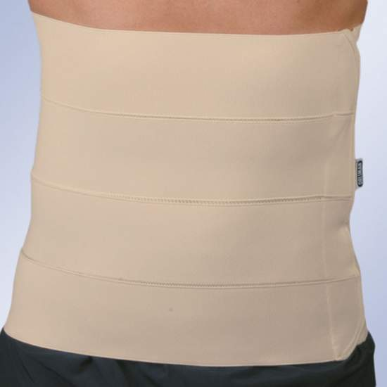 4-band belt (32 cms) - Made of continuous fabric belt Velcro closure.